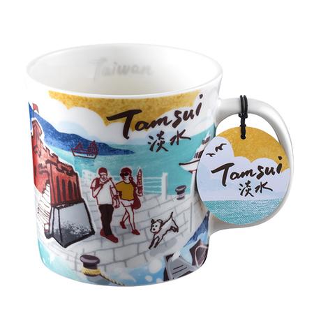 Starbucks City Mug Taiwan Scenic mug - Tamsui