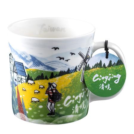 Starbucks City Mug Taiwan Scenic mug - Cinging