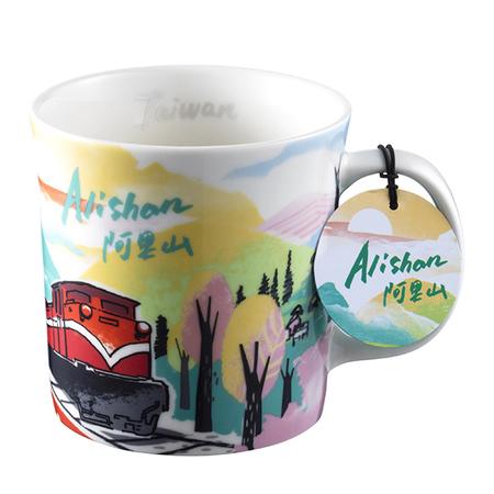Starbucks City Mug Taiwan Scenic mug - Alishan