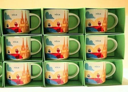 Starbucks City Mug YAH Mug Köln / Cologne