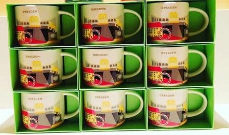 Starbucks City Mug YAH Mug Dresden