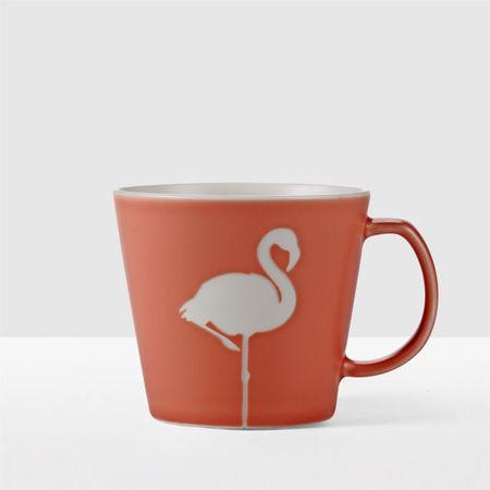 Starbucks City Mug 2017 Etched Flamingo Mug