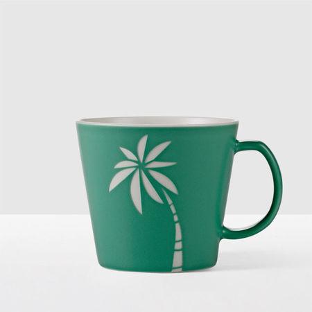 Starbucks City Mug 2017 Etched Palmtree Mug