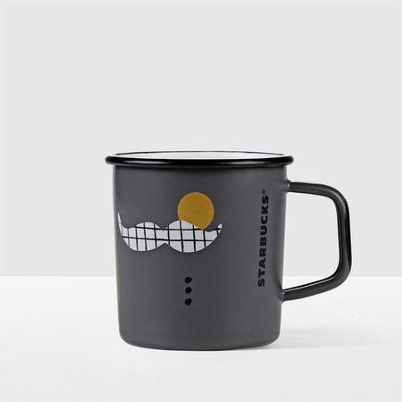 Starbucks City Mug 2017 Father's Day Enamel Mug