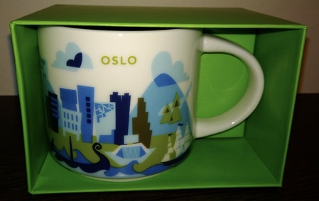 Starbucks City Mug Oslo YAH