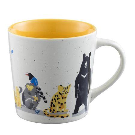 Starbucks City Mug 2017 Taiwan Wildlife Mug