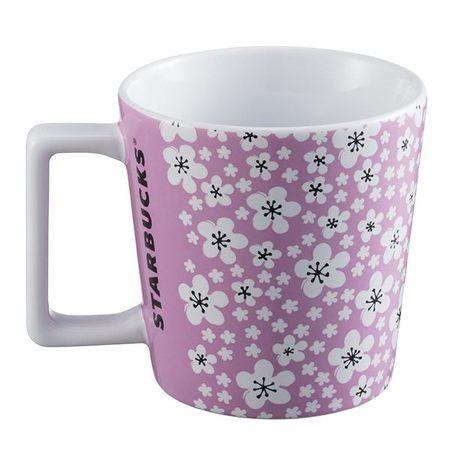 Starbucks City Mug 2017 Cherry Blossom Pink Mug