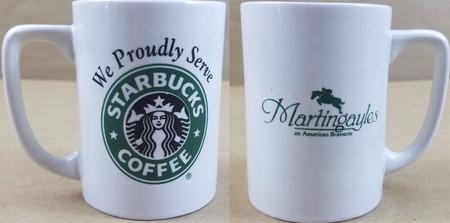 Starbucks City Mug Martingayles Brasserie-We proudly serve