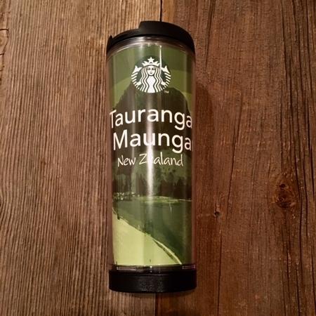 Starbucks City Mug Tauranga Maunga NZ Tumbler