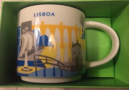 Starbucks City Mug Lisboa YAH