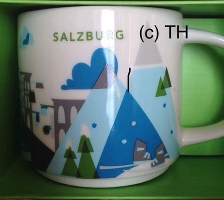 Starbucks City Mug Salzburg YAH