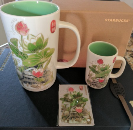 Starbucks City Mug Shanghai Disney 2016 Collection: Demitasse Mug: Hangzhou