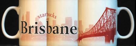 Starbucks City Mug Brisbane - made in China