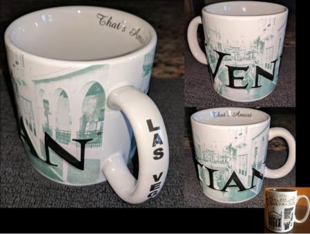 Starbucks City Mug Venetian Spec Prototype circa late 2005