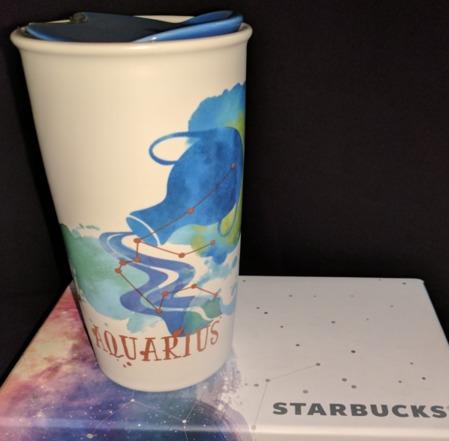 Starbucks City Mug Zodiac Collection 2017: Aquarius