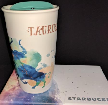 Starbucks City Mug Zodiac Collection 2017: Taurus