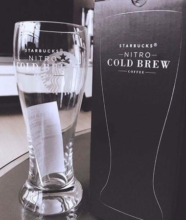 Starbucks City Mug 2017 Nitro Cold brew Glass