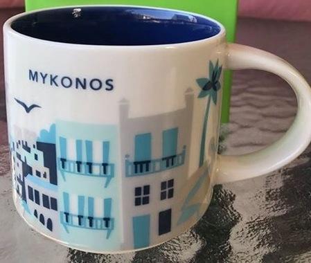 Starbucks City Mug Mykonos YAH