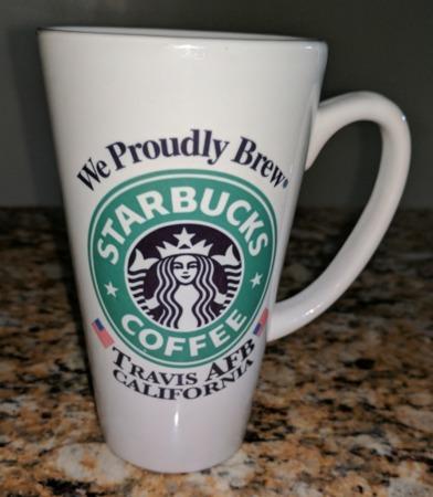 Starbucks City Mug Travis Air Force Base Tall Mug