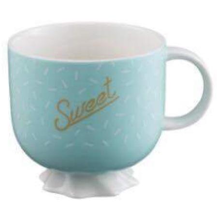 Starbucks City Mug 2017 Green Sweet Mug