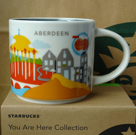 Starbucks City Mug Aberdeen YAH