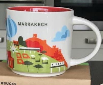 Starbucks City Mug Marrakech YAH