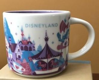 Starbucks City Mug Disneyland v2 YAH