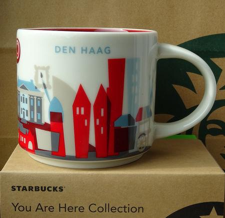Starbucks City Mug Den Haag YAH