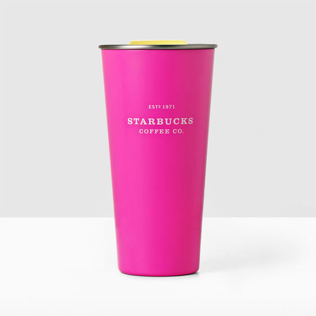 Starbucks City Mug 2017 Stainless Steel Heritage Hot Pink Tumbler
