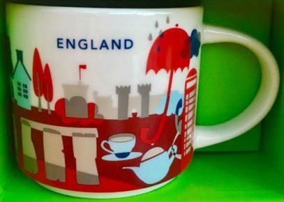 Starbucks City Mug England YAH