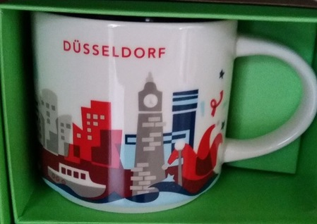 Starbucks City Mug Düsseldorf YAH