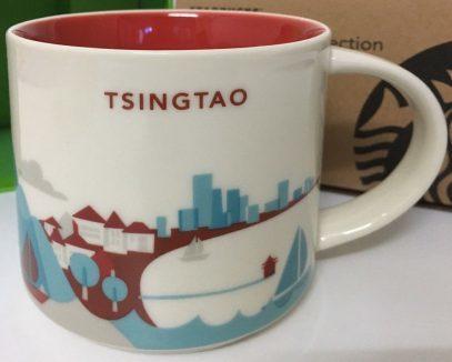 Starbucks City Mug Qingdao Tsingtao YAH