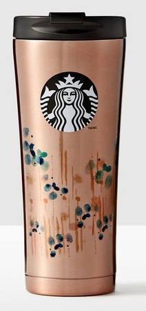 Starbucks City Mug 2016 Rain Drop Phinney Stainless Tumbler