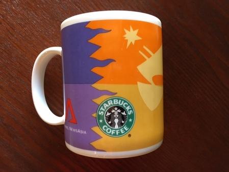 Starbucks City Mug Starbucks and Channel News Asia