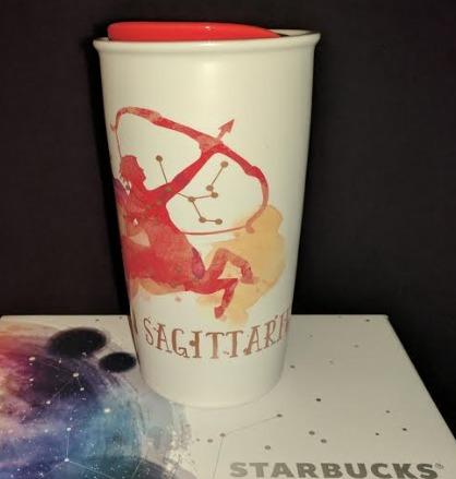 Starbucks City Mug Zodiac Collection 2017: Sagittarius