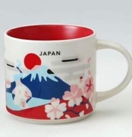 Starbucks City Mug Japan YAH