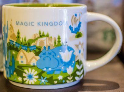 Starbucks City Mug Disney Magic Kingdom V.2 YAH