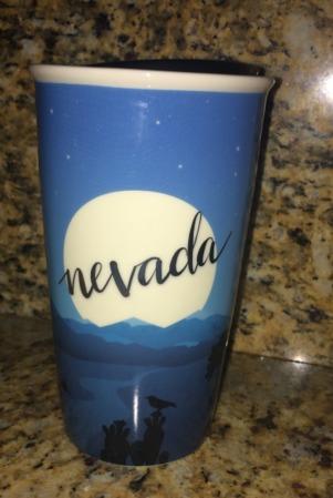 Starbucks City Mug 2017 Nevada State Ceramic Tumbler