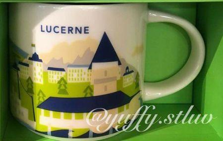 Starbucks City Mug Lucerne YAH