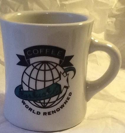 Starbucks City Mug World renowned Diner mug