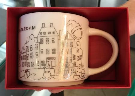 Starbucks City Mug 2017 YAH Amsterdam X-mas