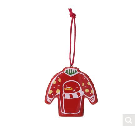 Starbucks City Mug 2017 Christmas Sweater Ornament