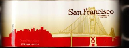 Starbucks City Mug San Francisco - Golden Gate Bridge