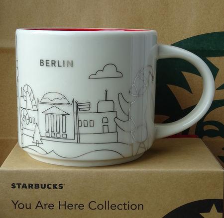 Starbucks City Mug 2017 Berlin Christmas YAH