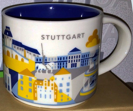 Starbucks City Mug Stuttgart YAH