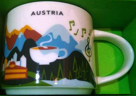 Starbucks City Mug Austria YAH