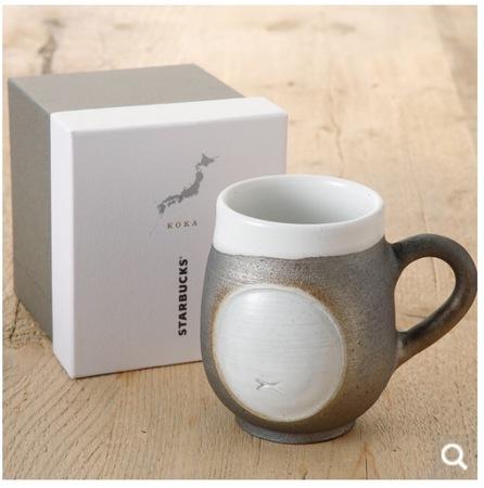 Starbucks City Mug Japan Shigaraki Mug silver