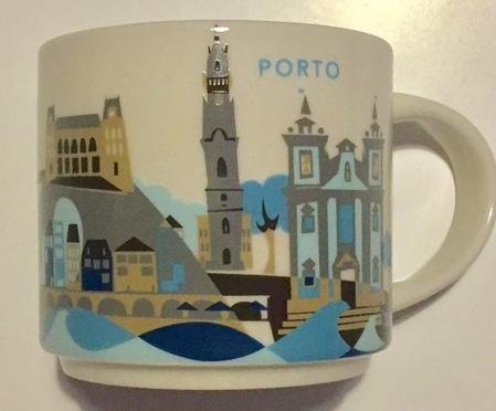 Starbucks City Mug Porto YAH