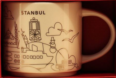 Starbucks City Mug 2017 Istanbul Christmas YAH