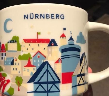 Starbucks City Mug Nürnberg YAH